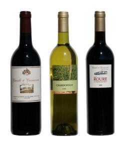 Pack wine tasting (3 bottles)